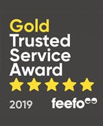 Feefo 2019 Gold Award Winner - read reviews