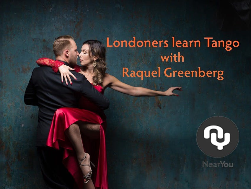 Londoners learn Tango with Master Instructor Raquel Greenberg