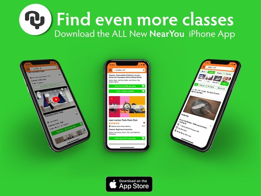 Find the best Dance Classes in the all new iPhone App