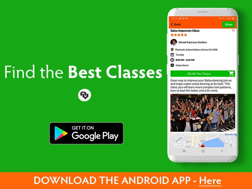 The best dancing classes and dance teachers near you on Android